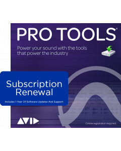 Pro Tools | Subscription RENEWAL