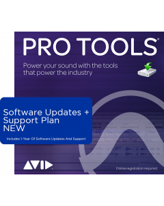 Pro Tools | 1-Year Software Updates + Support Plan (For Perpetual Licences Currently Not On A Plan)