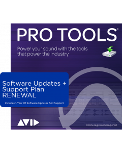 Pro Tools | 1-Year Software Updates + Support Plan RENEWAL (For Perpetual Licences Before Your Active Plan Ends)