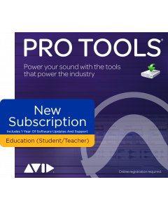 Pro Tools | NEW Subscription - EDUCATION PRICING, STUDENT/TEACHER