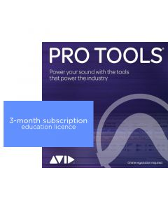 Avid Pro Tools 3-month Subscription  - Education Pricing