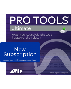 Pro Tools Ultimate | NEW Subscription