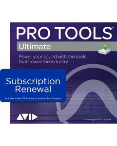 Pro Tools Ultimate | Subscription RENEWAL