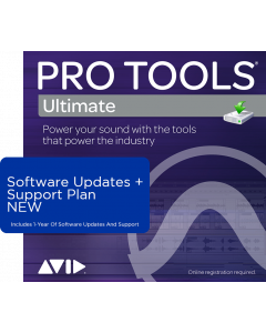 Pro Tools Ultimate | 1-Year Software Updates + Support Plan (For Perpetual Licences Currently Not On A Plan)