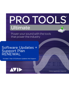 Pro Tools Ultimate | 1-Year Software Updates + Support Plan RENEWAL (For Perpetual Licences Before Your Active Plan Ends)