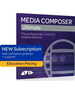 Avid Media Composer Ultimate 1-Year Subscription Education Pricing