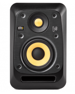KRK V4 Two-Way Active Powered Monitor (Black, Single)