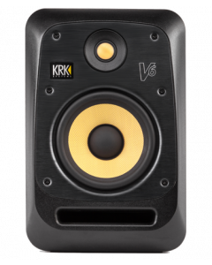 KRK V6 Two-Way Active Powered Monitor (Black, Single)