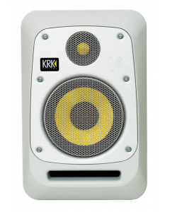 KRK V6 Two-Way Active Powered Monitor (White, Single)