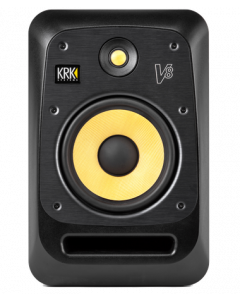 KRK V8 Two-Way Active Powered Monitor (Black, Single)